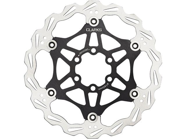 Clarks Lightweight Disc-Rotor Brake Disc 6-hole black